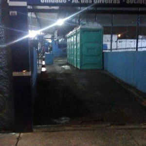Aluguel de banheiro químico SP