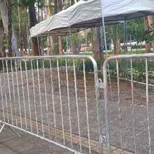 Aluguel de grades de proteção