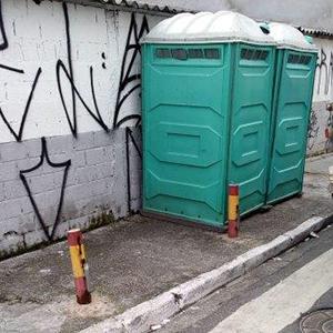 Banheiro Químico para Obras