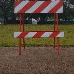 Cavaletes de sinalização